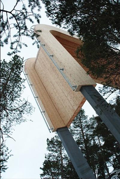 Aurland Lookout Saunders Architecture