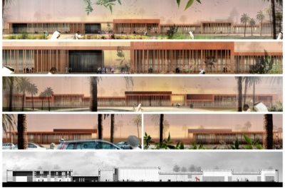Axiom Town MBAD X Architects