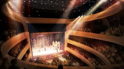 Busan Opera Henning Larsen