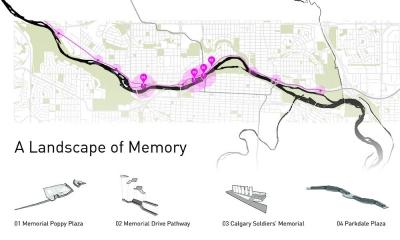 Calgary Memorial Drive Infrastructure
