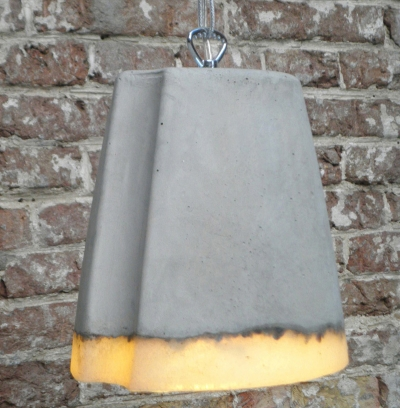 Concrete Lamp Renate Vos