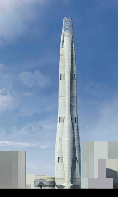 CTF Tianjin Tower SOM