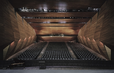 Festival Hall Delugan Meissl