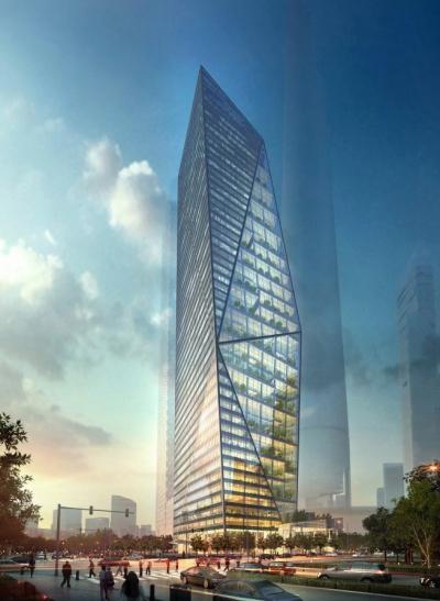 Harmony Tower Daniel Libeskind