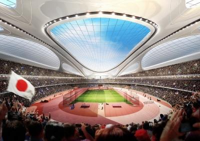 Japan Stadium Zaha Hadid