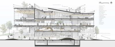 Library Daegu NOA Greendwell