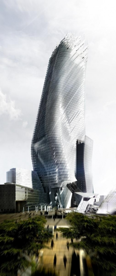 Phare Tower Morphosis