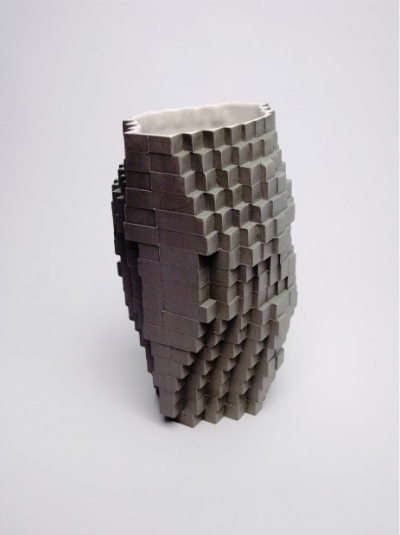 Pixel Vases Julian Bond