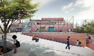 School Terraces Henning Larsen