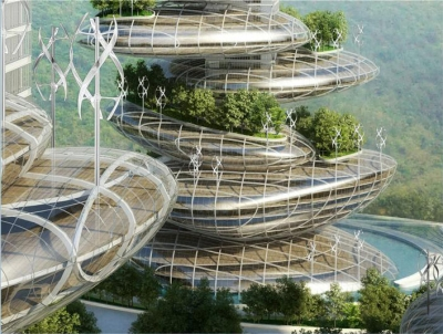 Asian Cairns Vincent Callebaut