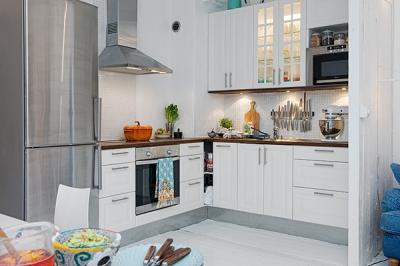 White Apartment Linnestaden