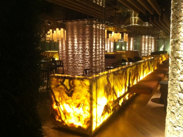 Dramatic And Elegant Lighting Of Tori No Su By Point Of View