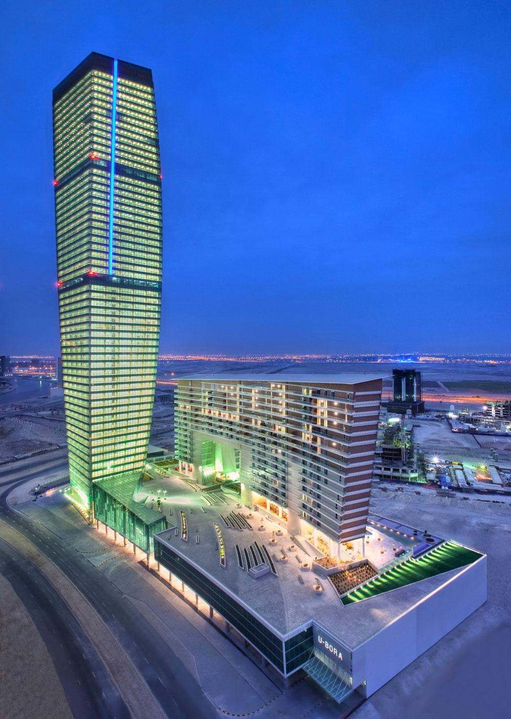 U Bora Towers by Aedas