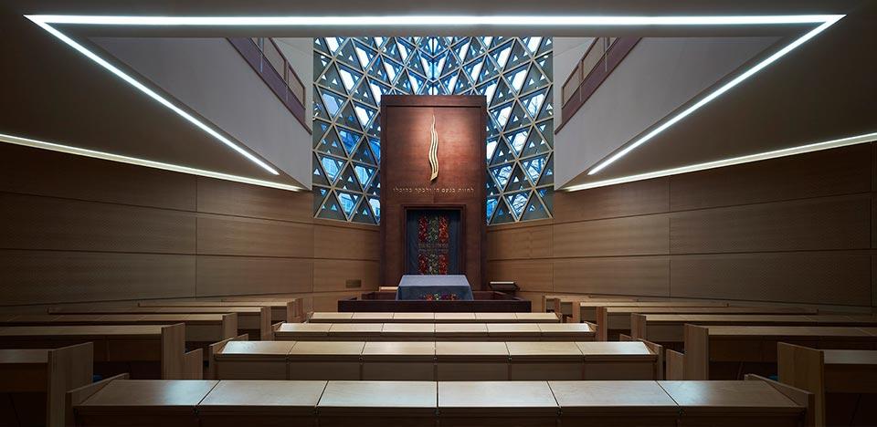 Ulm synagogue by kister scheithauer gross for Designhotel ulm