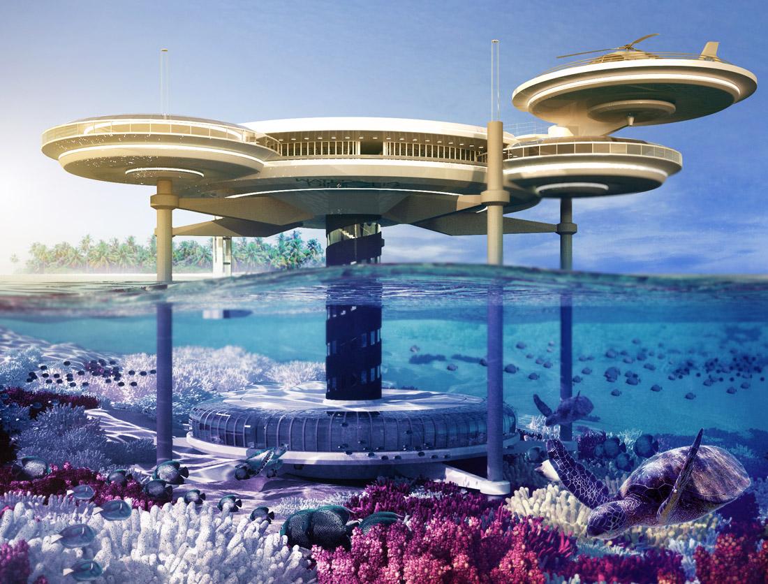 An Underwater Hotel By Deep Ocean Technology