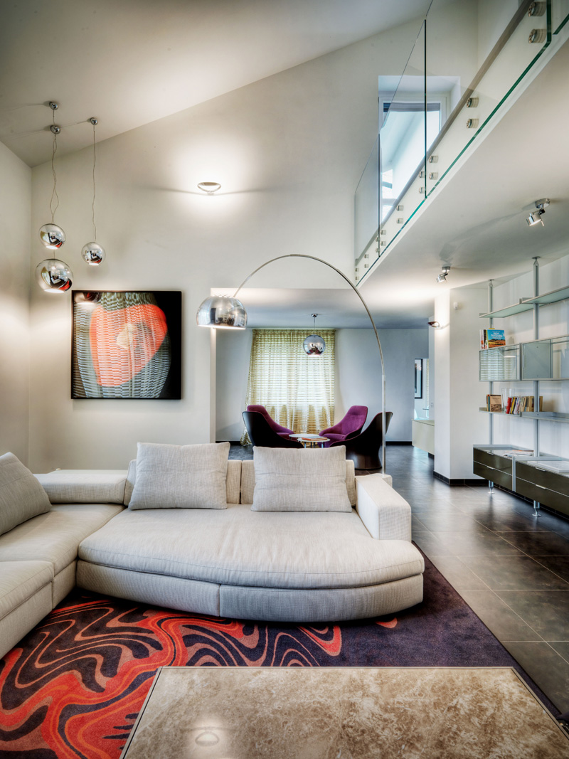 Interior villa on como lake by marco piva - Interior design como ...