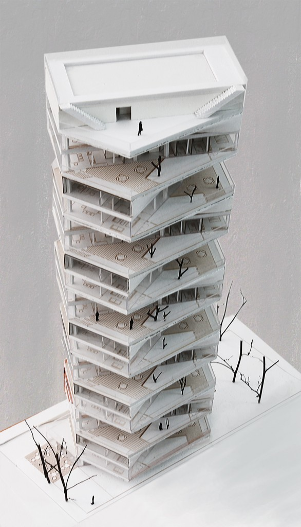 Writhing tower by lycs architects - Britains most modern buildings the contemporary design competition ...