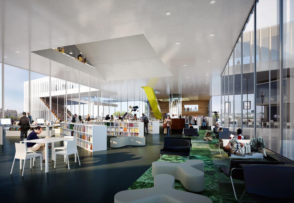 Cabinet D Architecte Caen library in caenoma