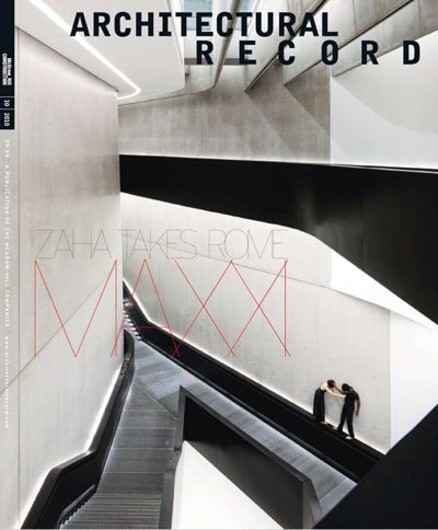 Architectural Record October 2010