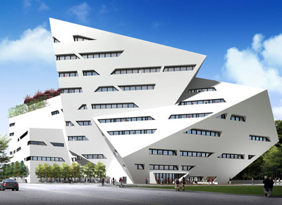 Creative Media Centre by Daniel Libeskind
