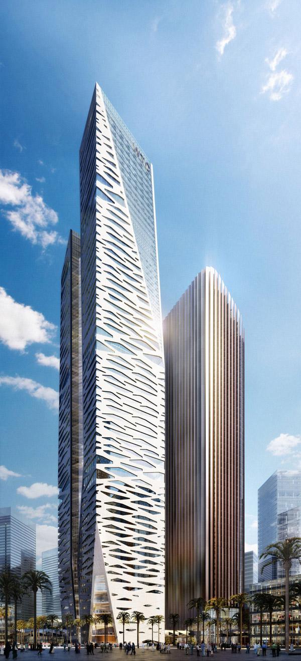 King Abdullah Financial District Parcel By Gensler