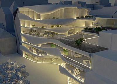 Shopping Pillow Terraces OFIS Arhitekti