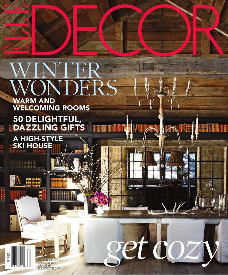 Elle Decor December 2010 January 2011