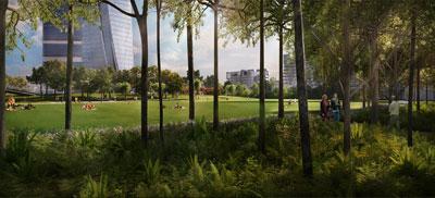 Gustafson Porter Milan Park