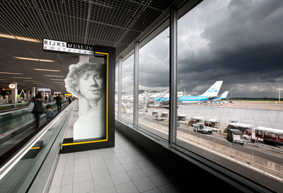Schiphol by UXUS