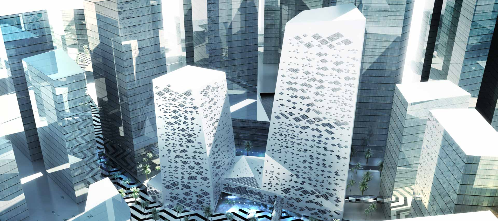 Crystal Towers By Henning Larsen Architects