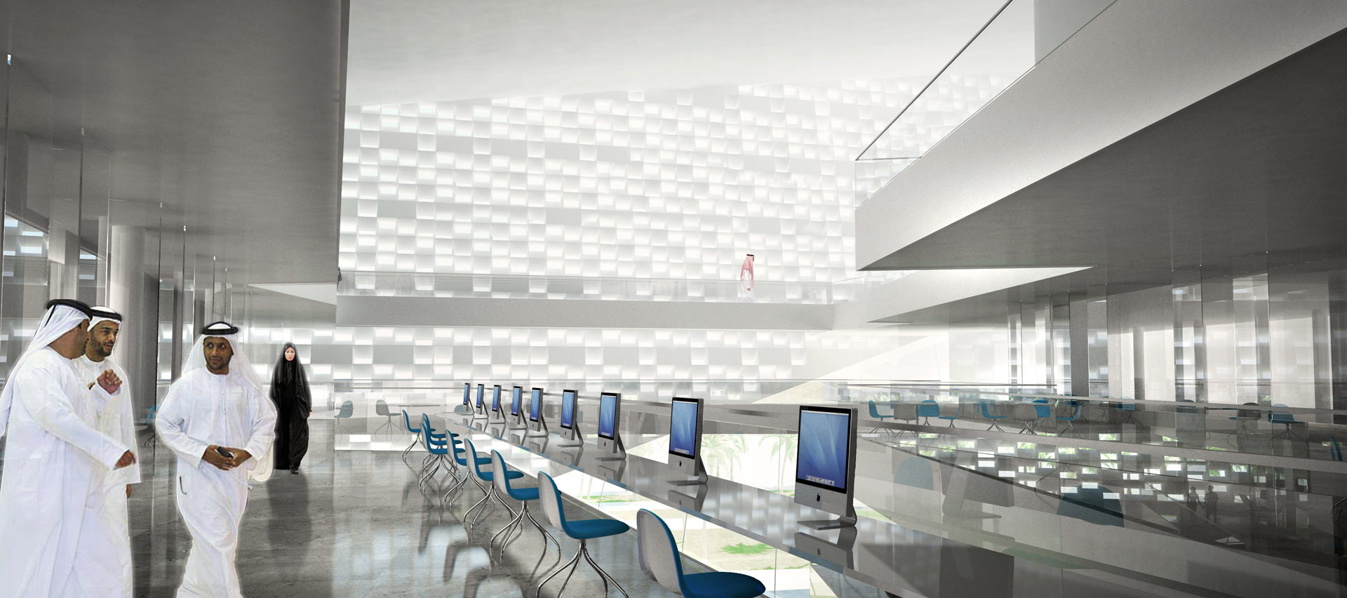 Prince naif centre by henning larsen architects for Interior design companies in riyadh