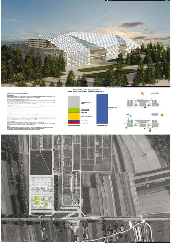 Solar power offices by ofis arhitekti for Ofis arhitekti