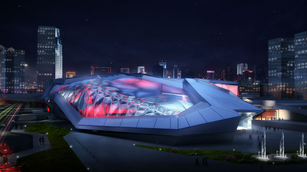 Civic Sports Center And 2013 National Games Arena By Emergent