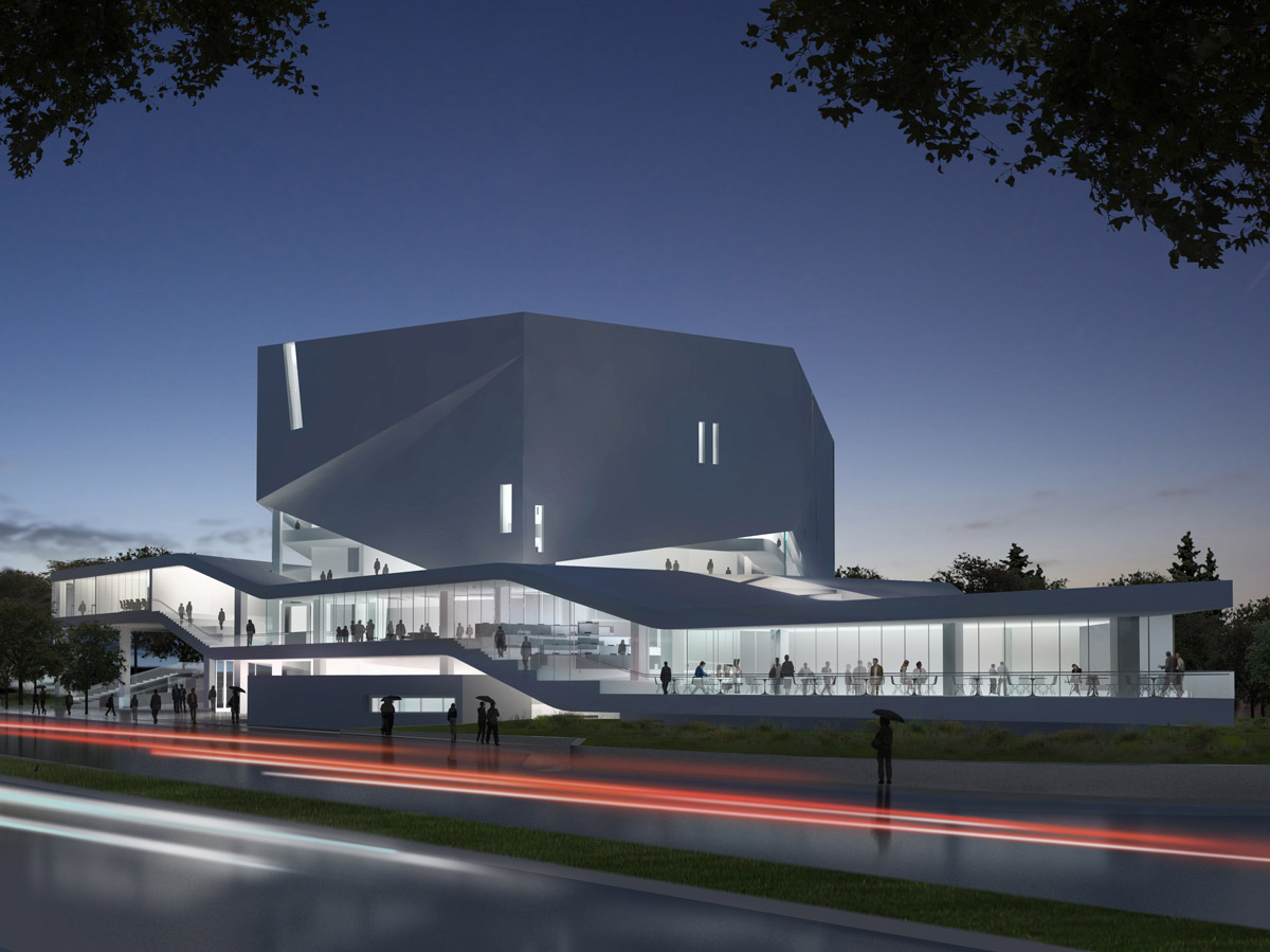 Mashouf Performing Arts Center by Michael Maltzan Architecture