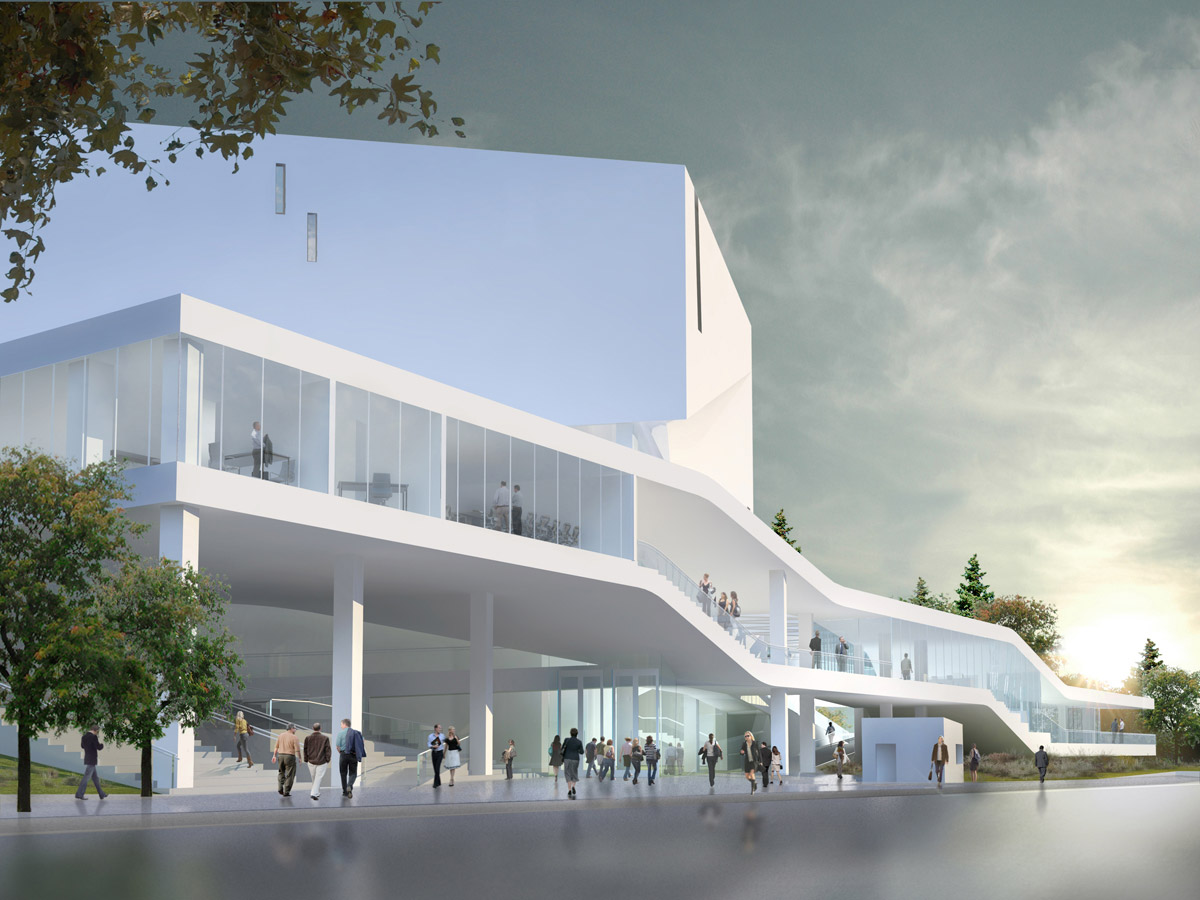 Mashouf performing arts center by michael maltzan architecture for Architectural design