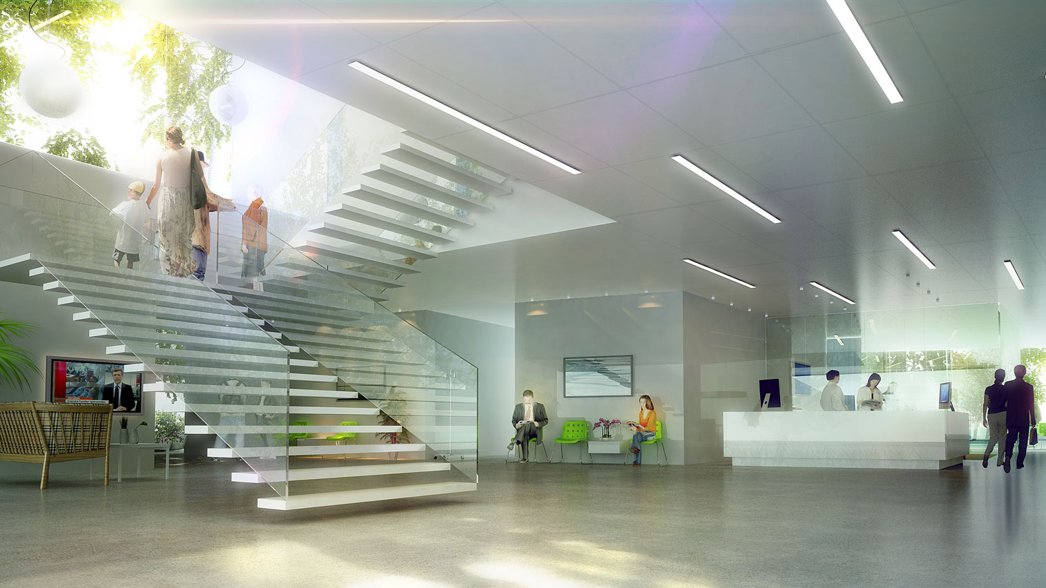 Odense University Hospital By Henning Larsen Architects