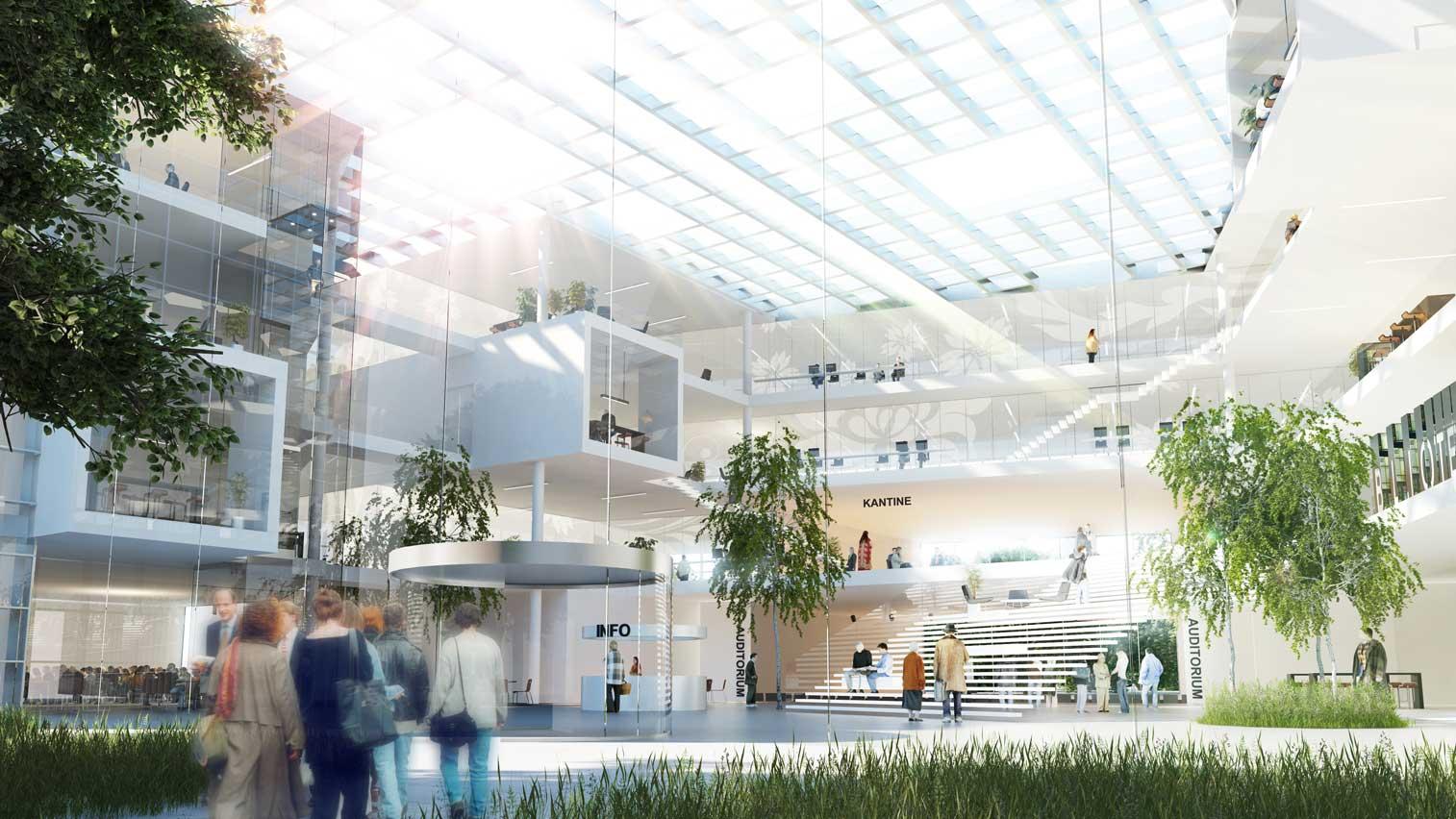 Odense University Hospital by Henning Larsen Architects