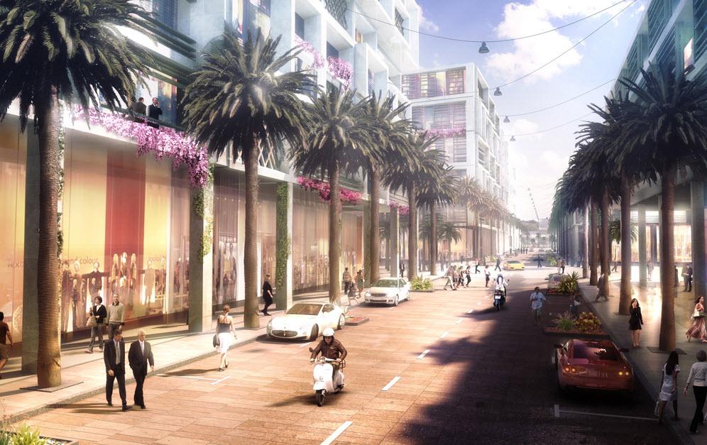 Lebanon waterfront city by oppenheim for Office design lebanon
