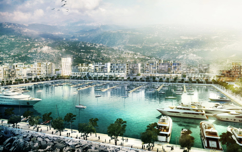Lebanon Waterfront City By Oppenheim