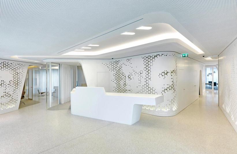 Raiffeisen bank zurich by nau for Interior design zurich switzerland