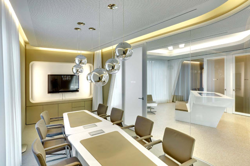 Raiffeisen bank zurich by nau for Interior decoration zurich