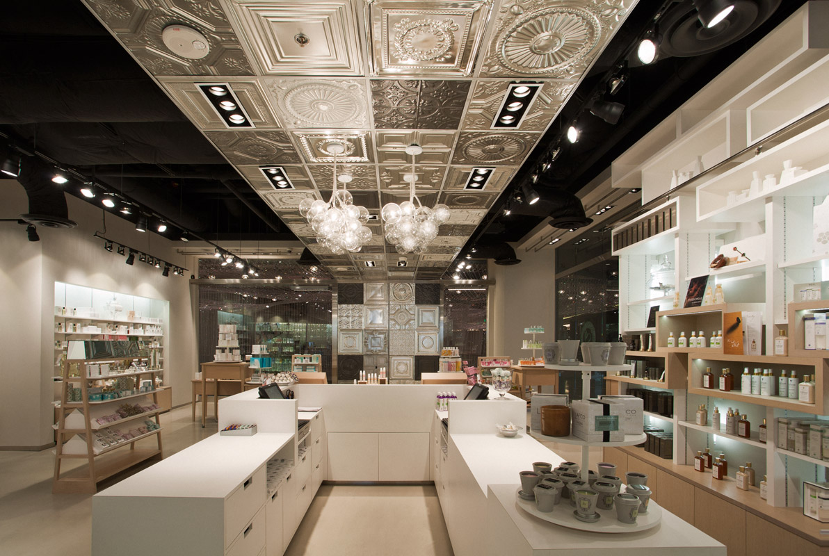 Interior Design Stores Entrancing Of Cosmetic Shop Design Interior Photo