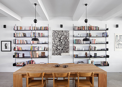 richardson dondoe loft by workshop for architecture