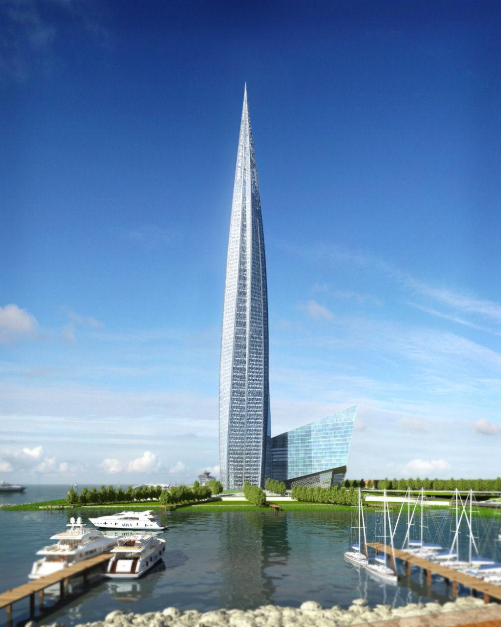 el edificio ms alto de europa en construccin edificio