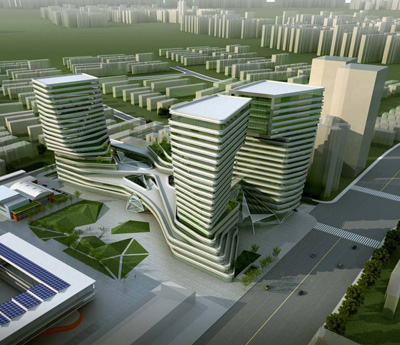 Shanghai International Design Center by AM Progetti and TJAD