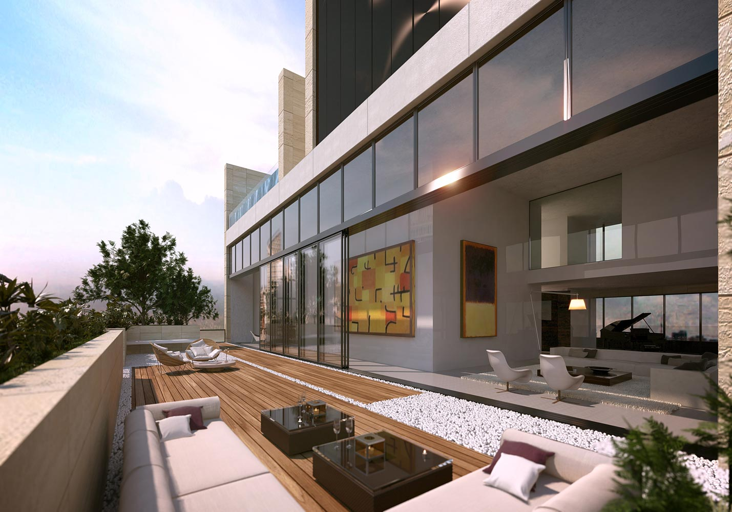 3beirut by foster and partners for Terrace beirut