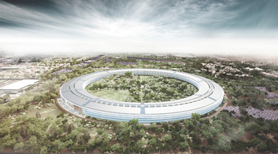 Apple Campus Foster Partners