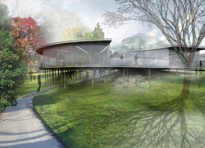Botanical garden in arhus by svendborg architects for Botanical garden design