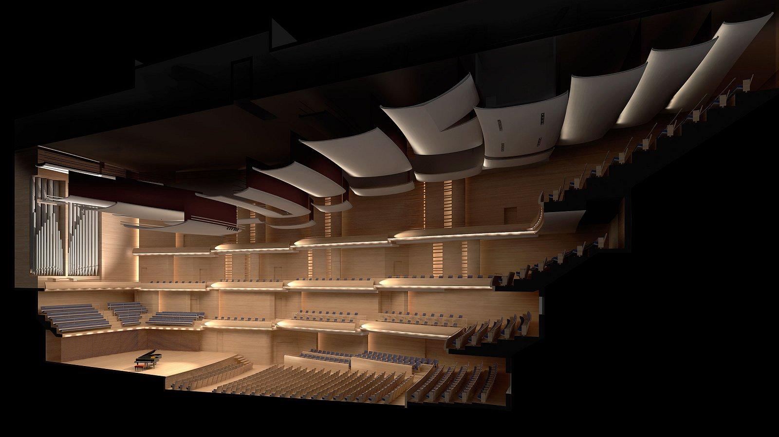 Concert Hall Montreal Gazette By Diamon And Schimitt