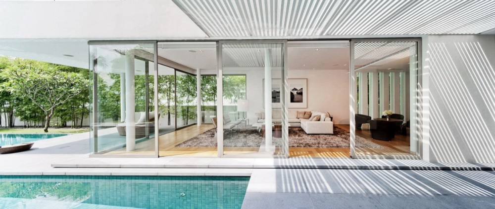 GlassBox House by Beige Design
